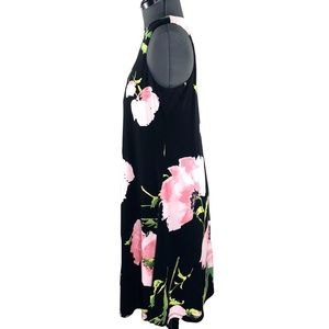 Anne Klein Dresses - Anne Klein Black Print Sleeveless Dress Size 6